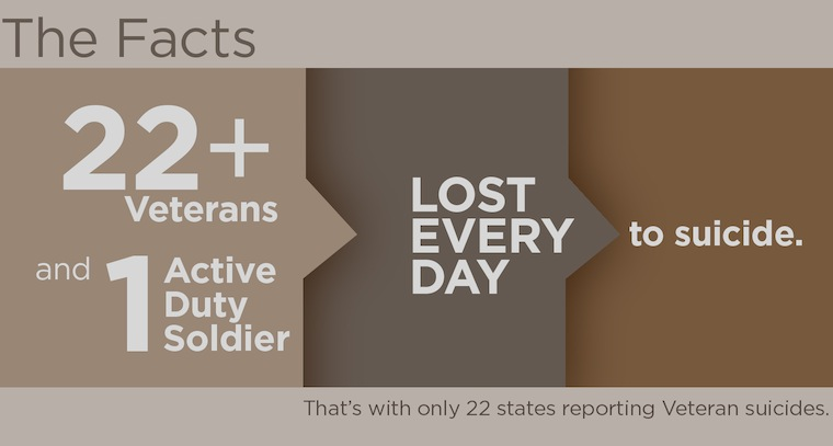 Suicide amongst military personnel and veterans