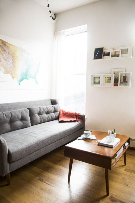 A 750 Square Foot Apartment Tour Huffpost