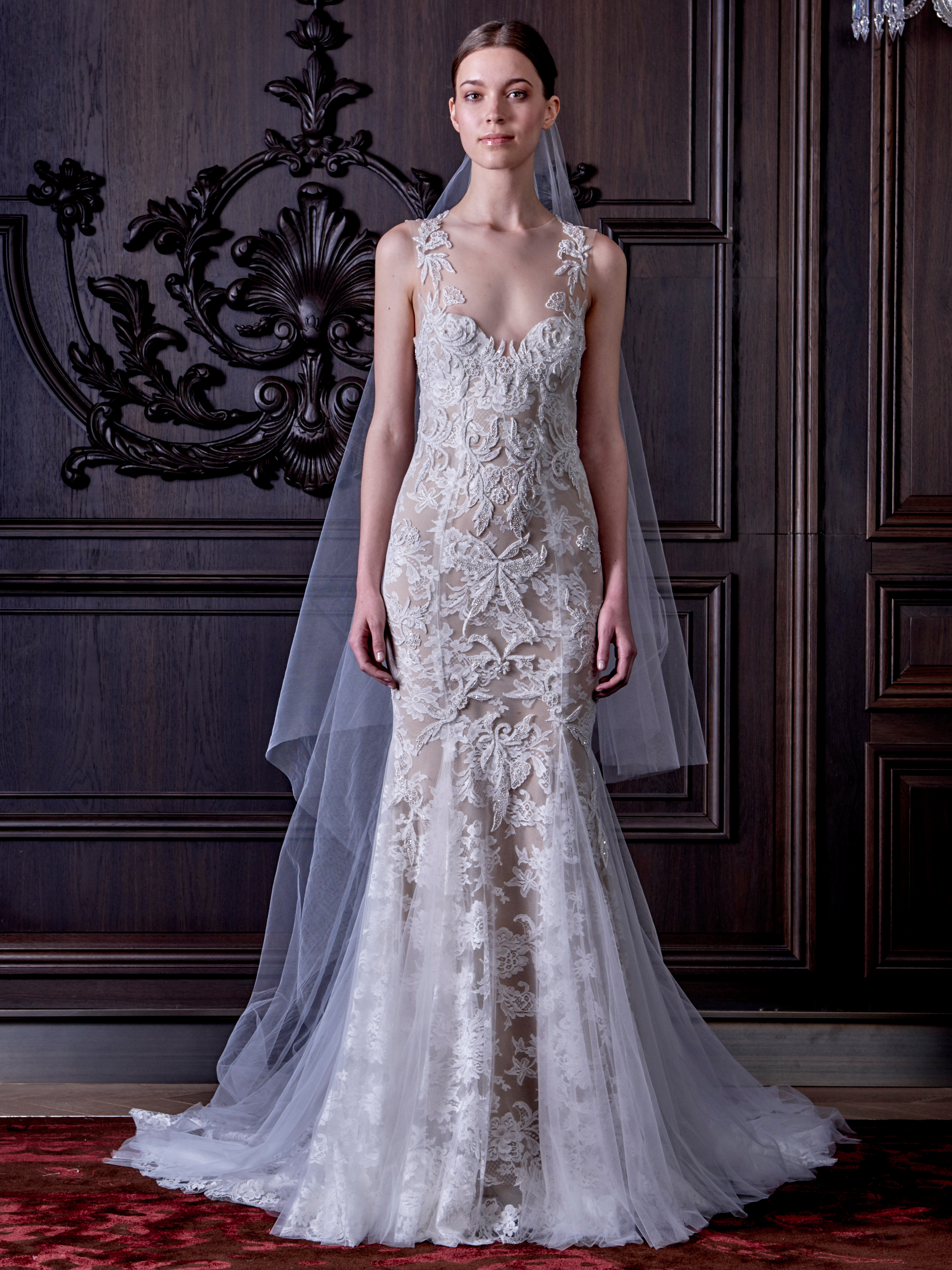 Monique Lhuillier s New Wedding Dress Collection Is Both