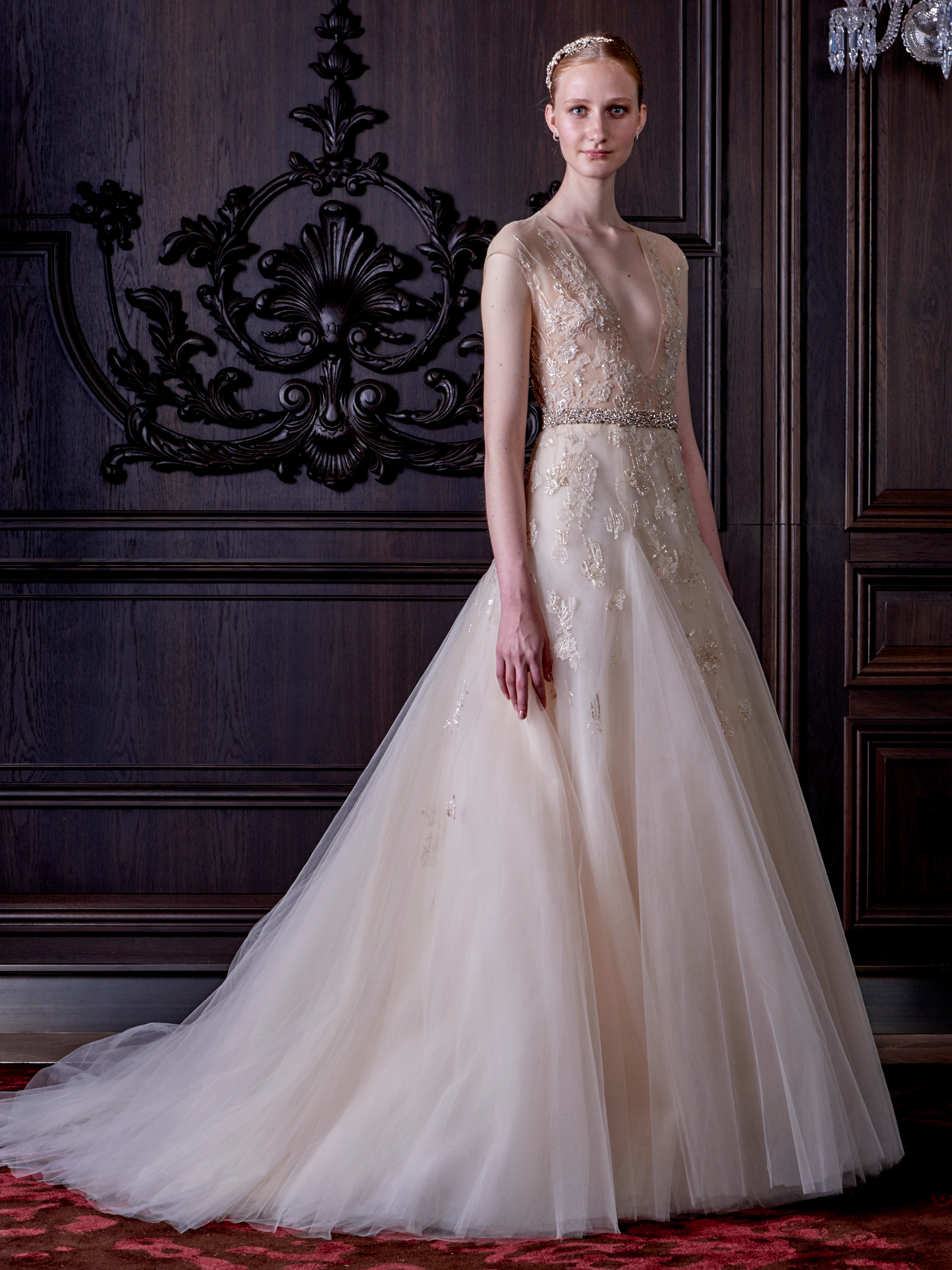 Monique Lhuillier's New Wedding Dress Collection Is Both Naughty ...