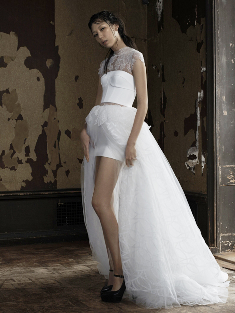sexy wedding dresses for daring brides only huffpost