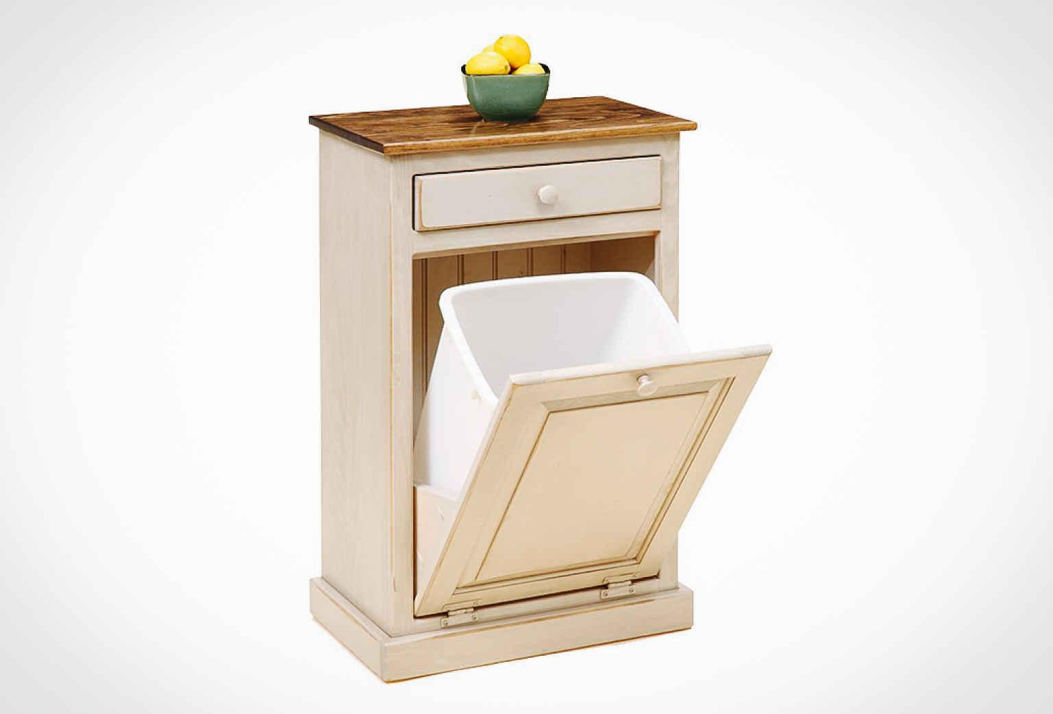 100 wood trash bin cabinet hampton bay hampton assembled 18