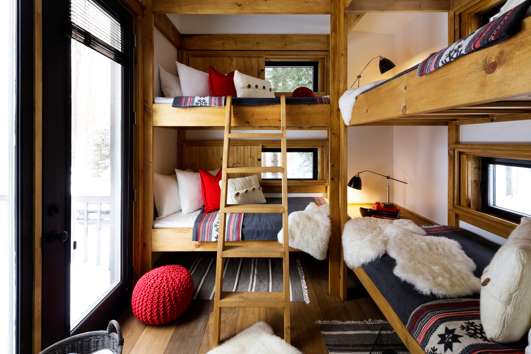 Our game of homes and bunkies for Bunkie interior designs