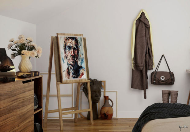 7 Great Ways To Display Art No Nails Required Huffpost