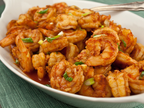 name, this shrimp dish has actually very little to do with barbecue ...