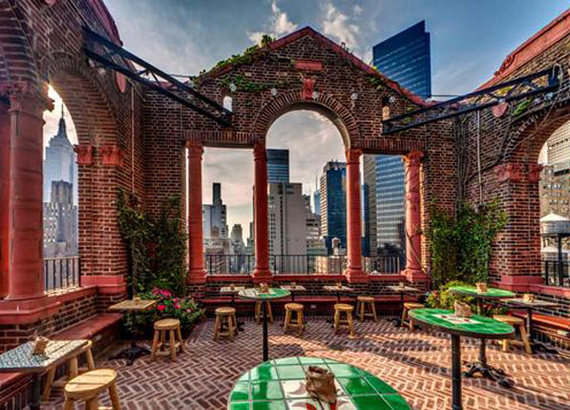 Nyc 39 S 10 Best Rooftop Bars Huffpost