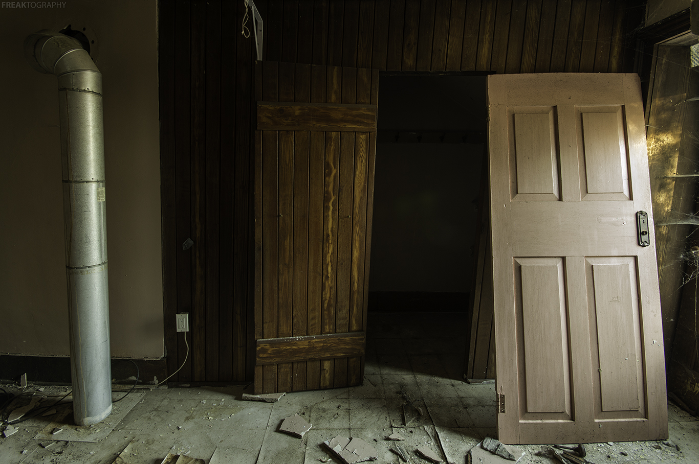 Abandoned house essay