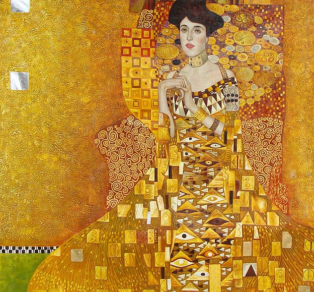 Ignore the critics woman in gold shines brightly huffpost for Biographie de klimt