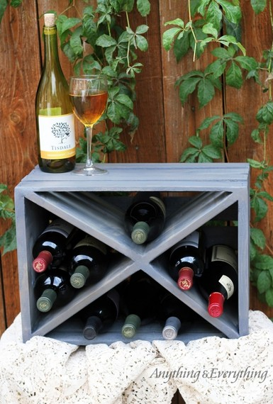 8 ways to reuse old wood crates and pallets huffpost for Wine crate diy