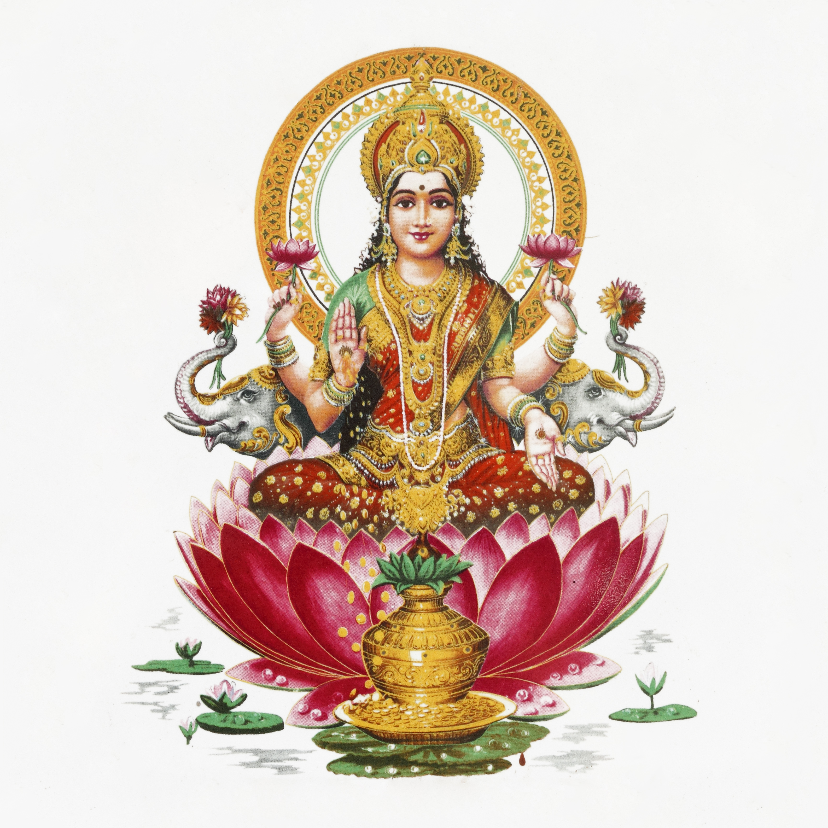 Hindu God Photos: 9 Goddesses To Help With Money, Love, And Protection