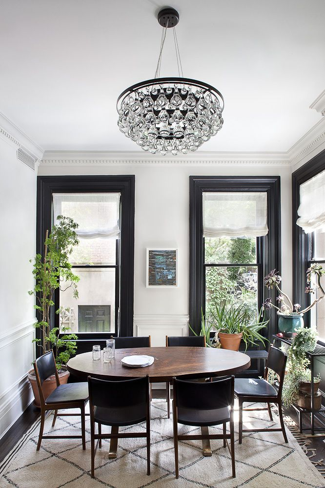 The most magnificent moulding for your home - Black house with white trim ...