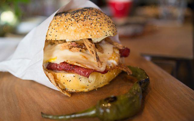 The New Classic Breakfast Sandwich: The Hickory Town at High Street on ...