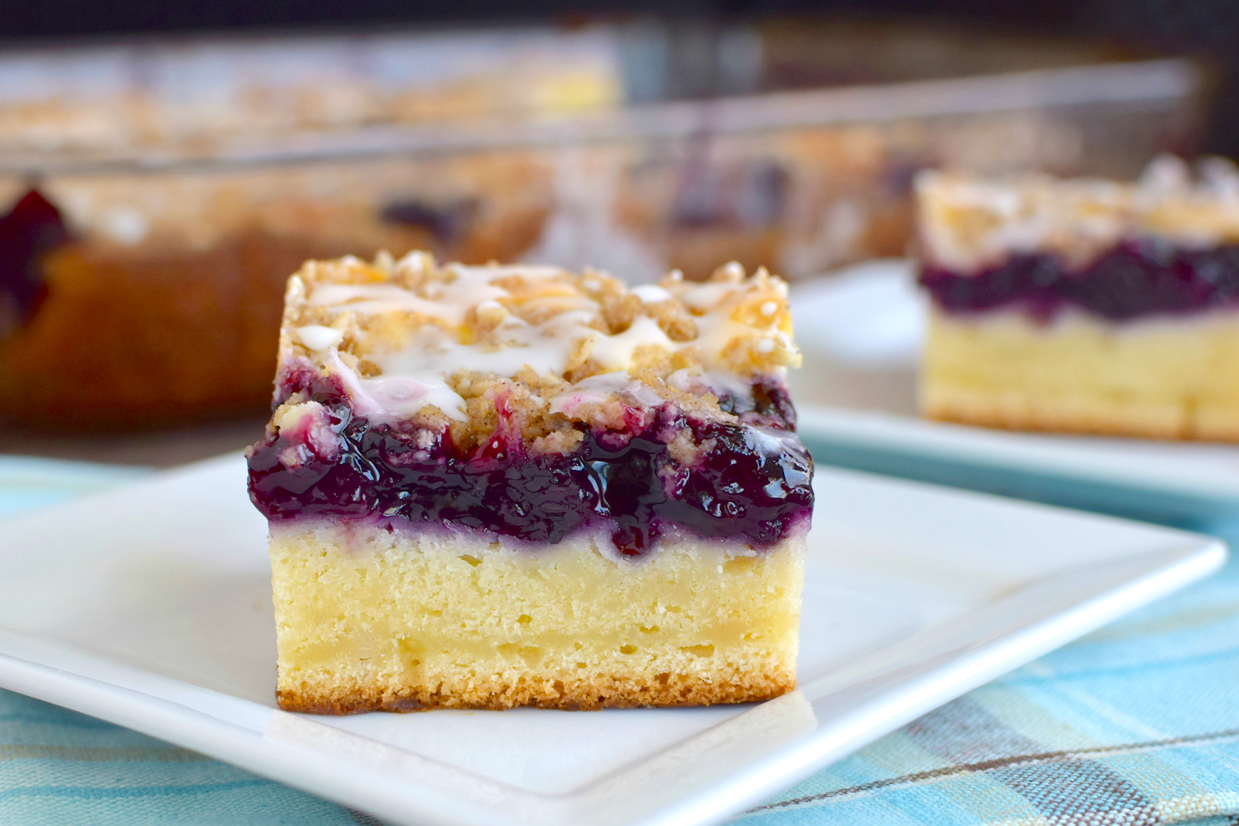 Blueberry cream coffee cake is the perfect answer to your breakfast ...