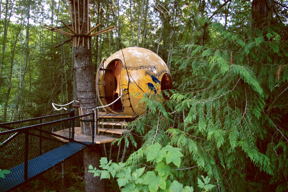 The World S 10 Coolest Treehouse Hotels Huffpost