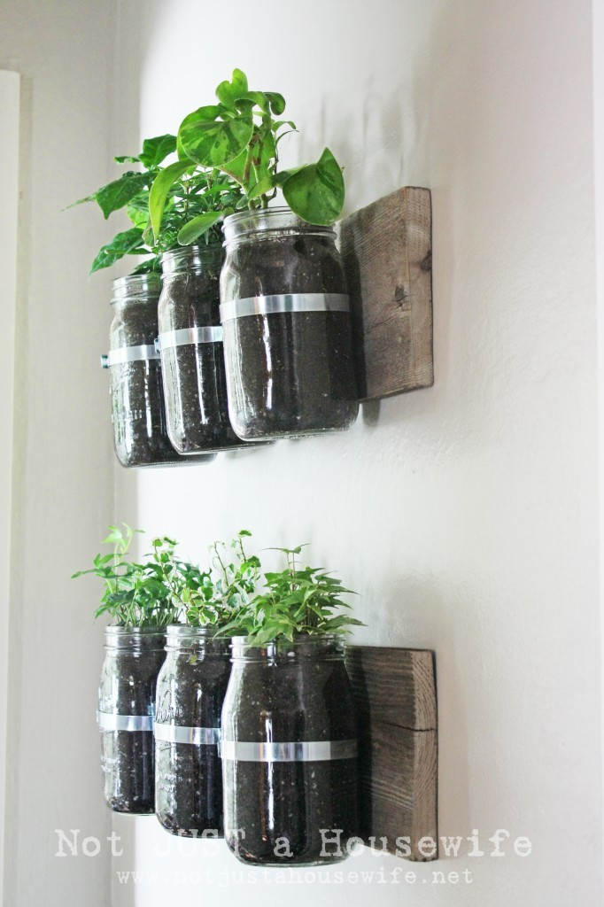 Hanging Wall Garden Diy : Diy herb gardens you ll want to grow huffpost