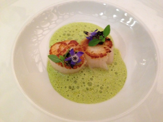 Arnaud davin leads a new generation of french chefs at - French cuisine definition ...