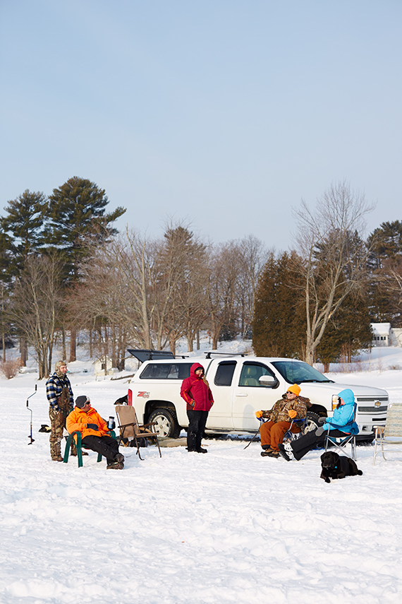 The ice fishermen of schroon lake new york huffpost for Ice fishing ny