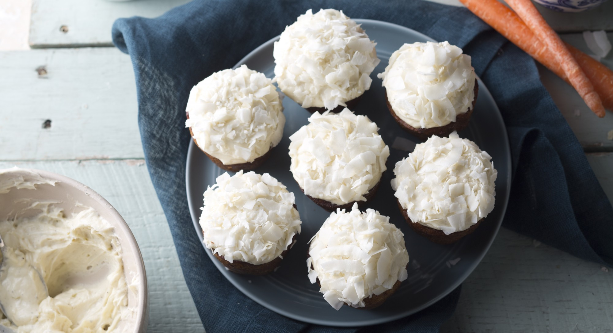 Carrot Cupcakes With Cream Cheese Frosting | The Huffington Post