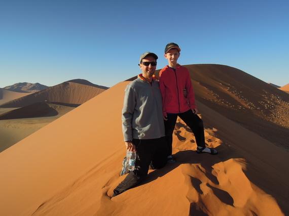 Climbing Sossusvlei's Famous Dune 45