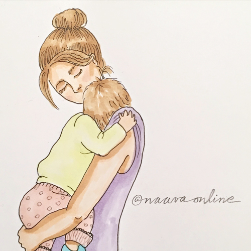the beauty of parenthood Naava katz is a mother and artist whose illustrations capture the beauty in the details of life as a new parent though she's been drawing all her life, it wasn't until after she had her .