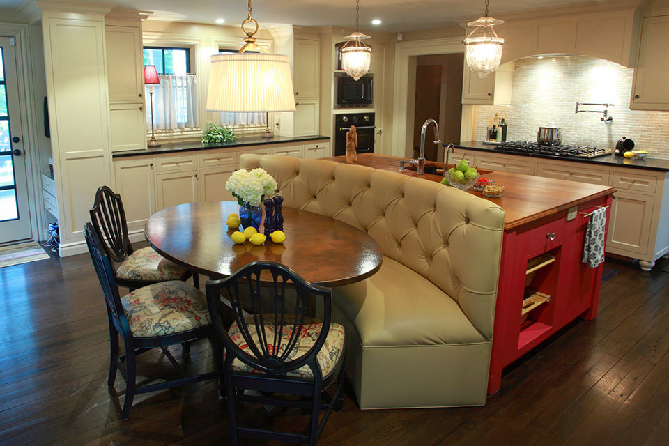 Unconventional Kitchen Islands