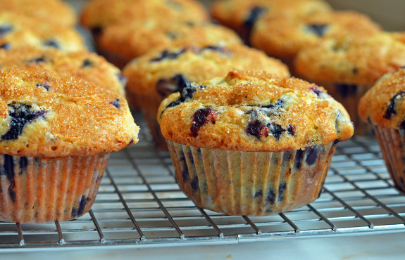 ... blueberry muffins. And what's more -- they're easy to make. GET THE