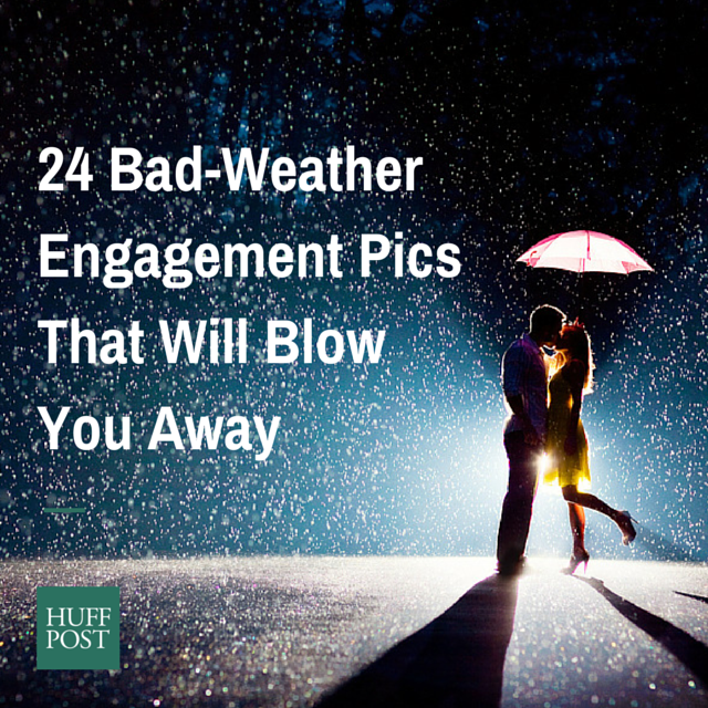 24 Couples Who Didn T Let Bad Weather Ruin Their Engagement