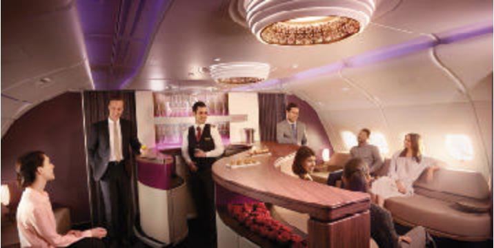 for Interieur qatar airways