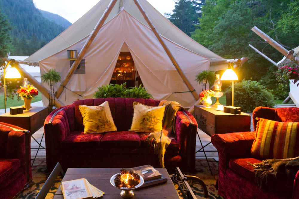 The 7 Best Places To Go Glamping In Canada Huffpost Canada