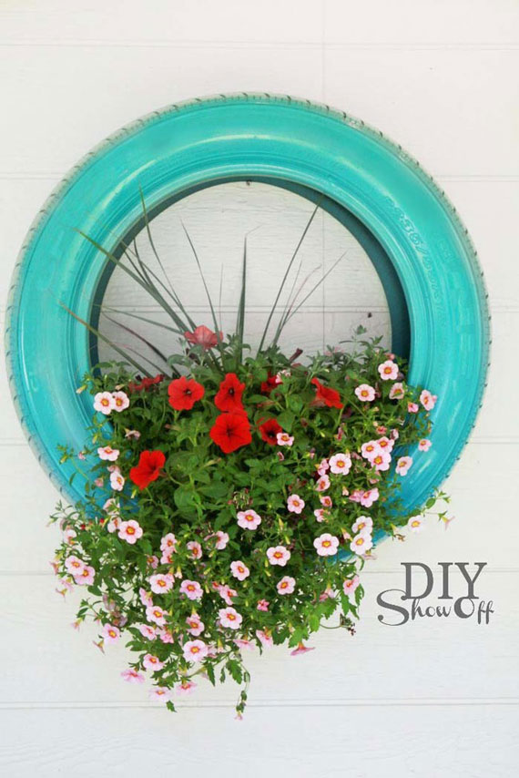 20 ways to reuse old tires from the practical to the for What can you make out of old tires