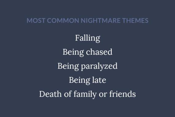 How do i stop my nightmares, i'm afraid to sleep?
