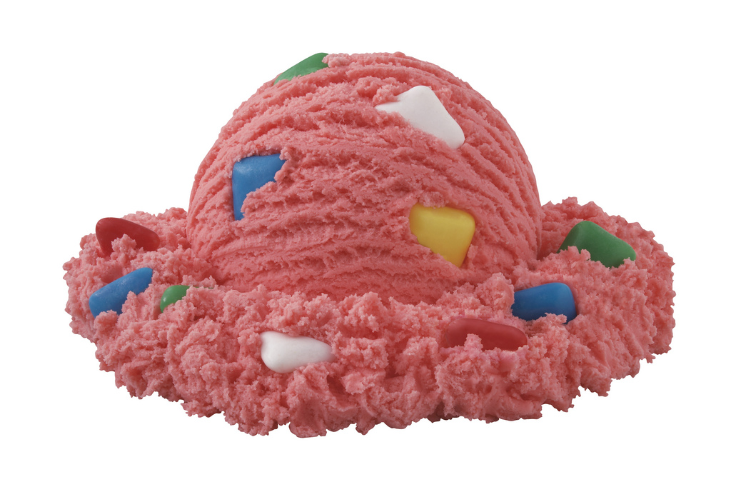 ... is still America's most popular flavor. (Sorry, bubble gum ice cream