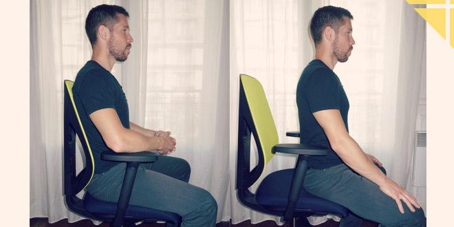 Comment bien choisir son si ge de bureau for Chaise ergonomique repose genoux