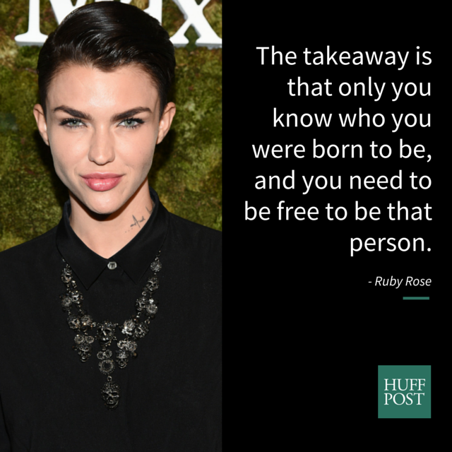 ruby rose breaks down what it means to be gender fluid huffpost
