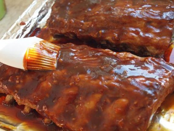 Slow-baked in a delicious hoisin barbecue sauce until the meat falls ...