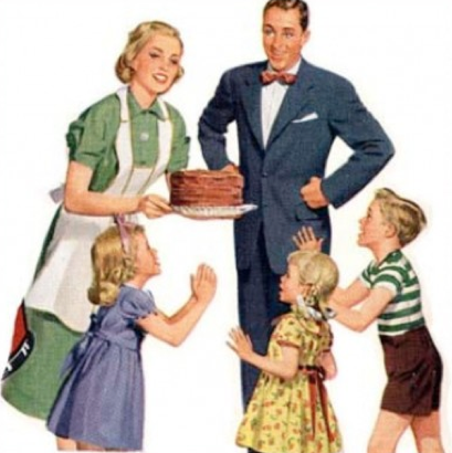 liberals and the not so new family values  the huffington post      americanfamilypng
