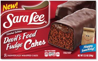 Sarah Lee Snack Cakes