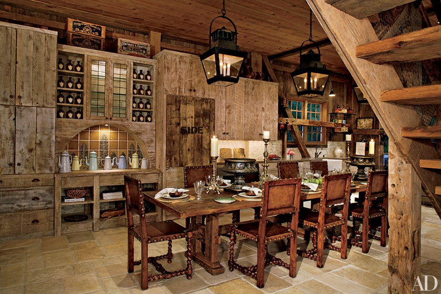 Wood Farmhouse Chandelier