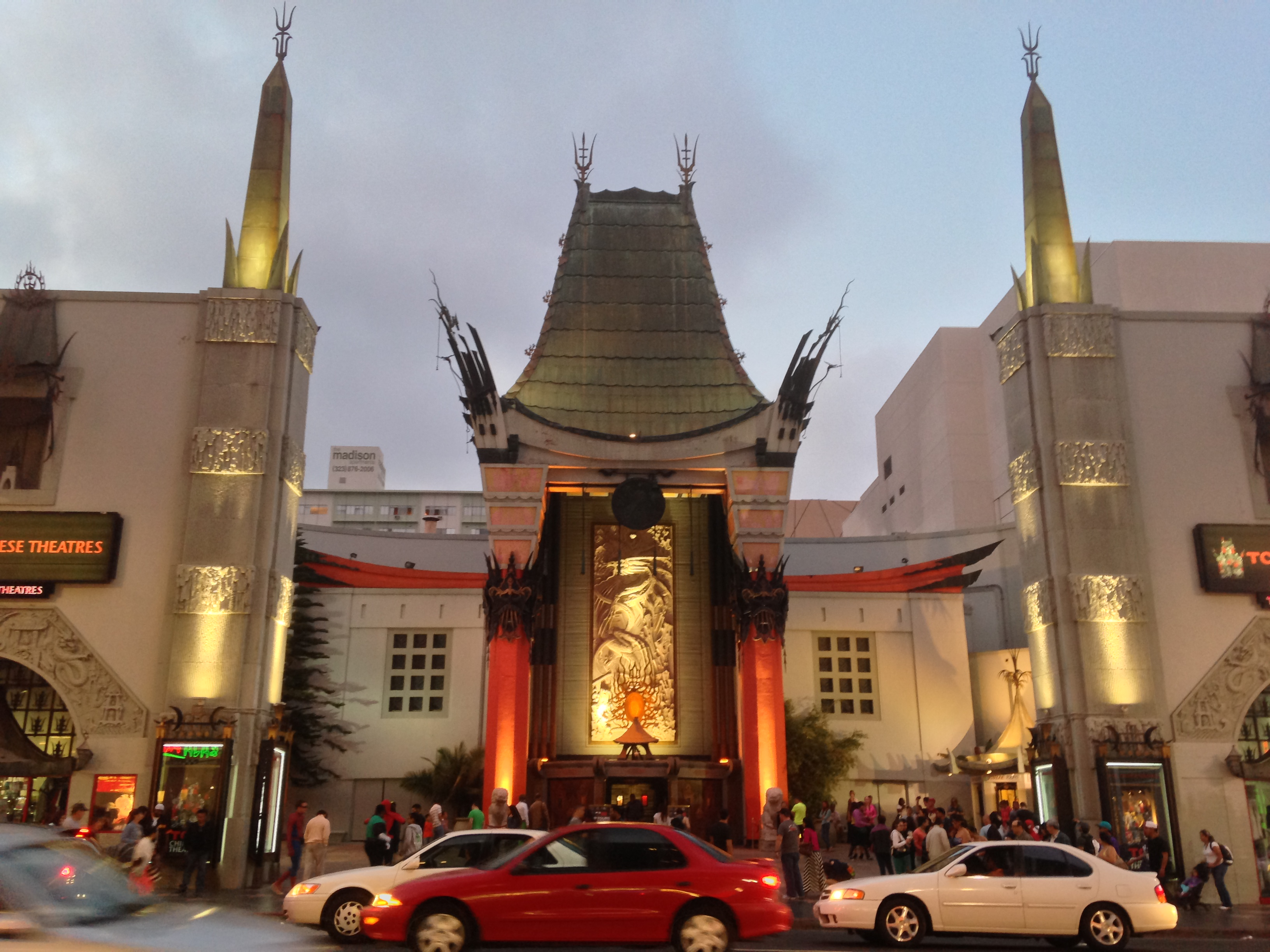 Walking On The Street Of Dreams Hollywood Boulevard Huffpost