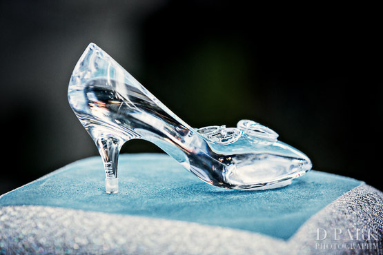 Glass Slipper Wedding Shoes