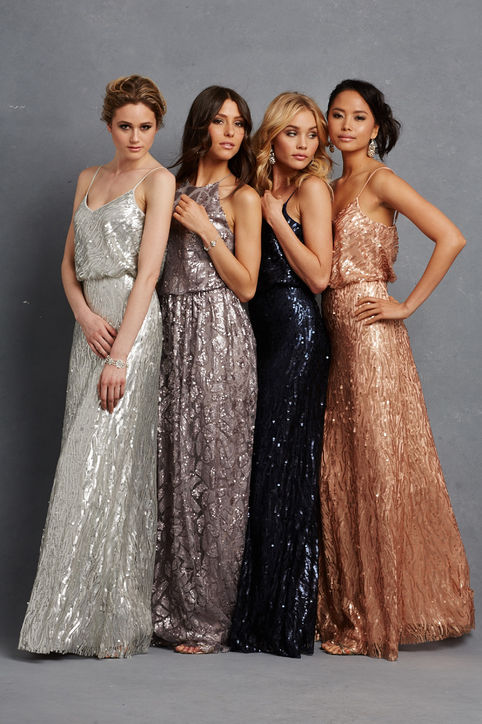 10 Bridesmaid Dresses Your Friends Won't B*tch About Behind Your ...