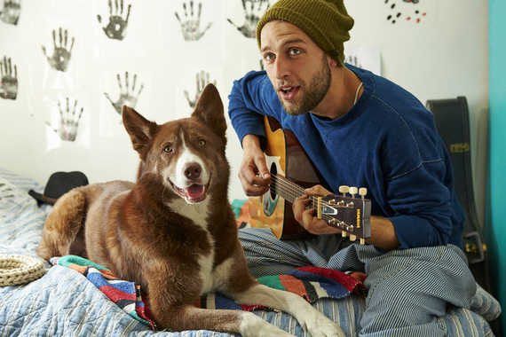 Images Dylan the Dog and His Man Aki Steal Mrs. Sizzle