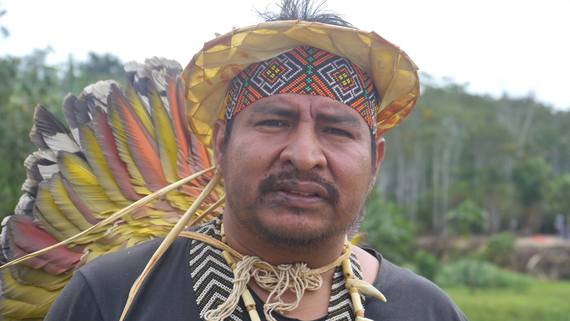 Chief Tashka Yawanawa