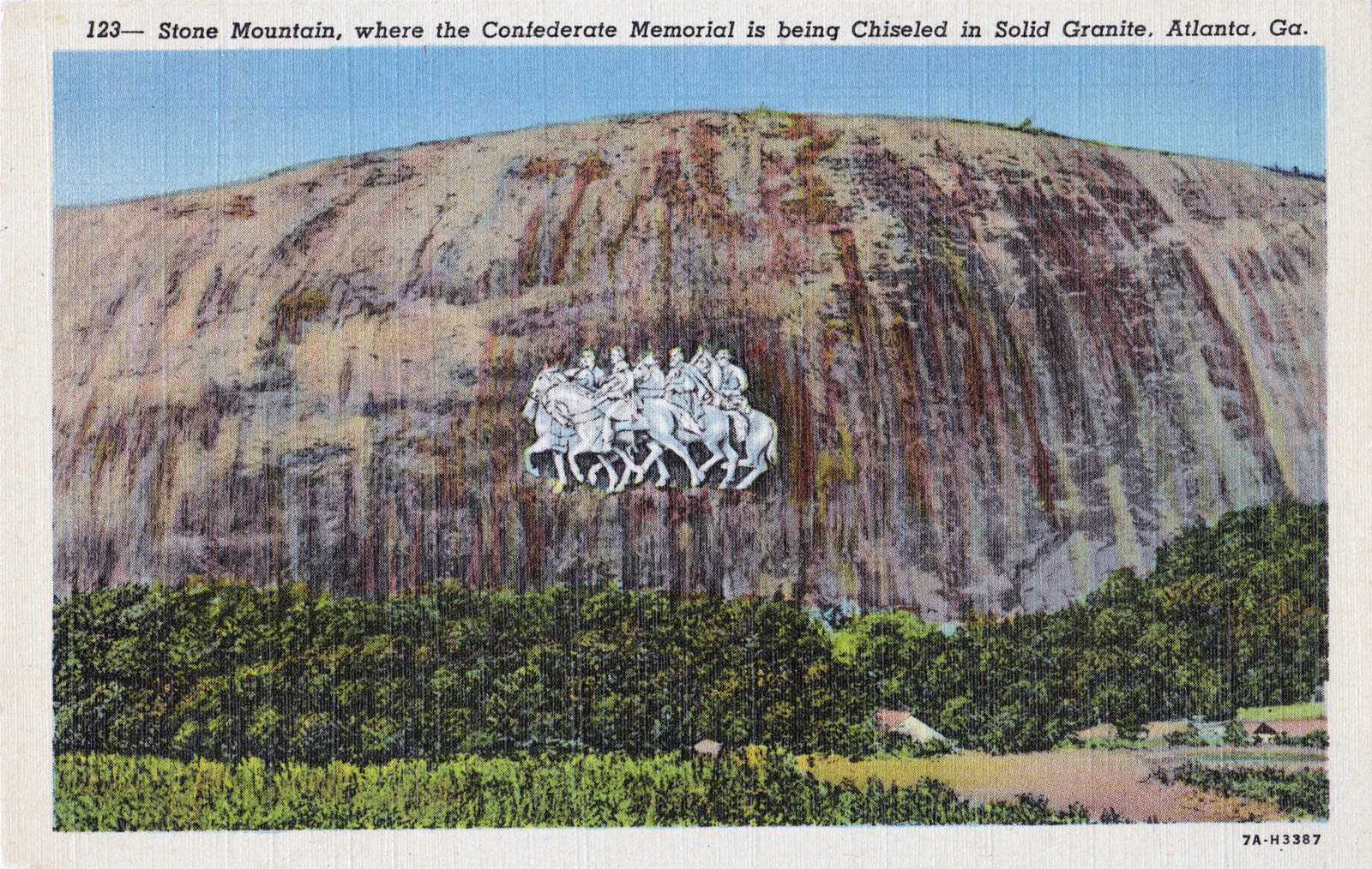 Confederate land art the apotheosis of racist iconography