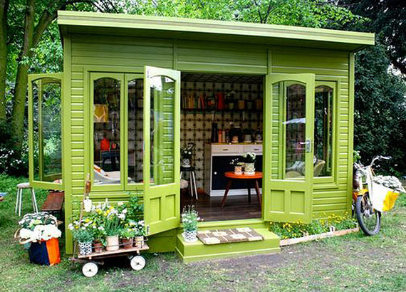 She Sheds Are The New Man Caves HuffPost