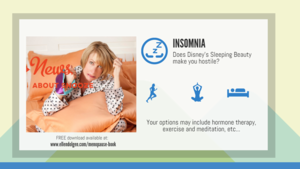 Menopause Infographic - Insomnia