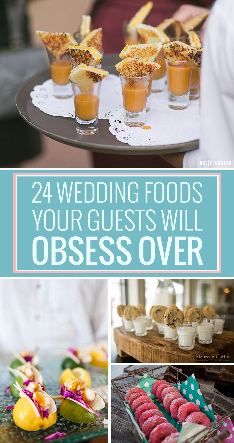 Awesome 24 Unconventional Wedding Foods Your Guests Will Obsess Over | HuffPost