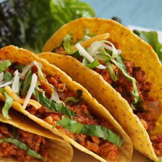 Everyone loves taco night. Loaded with veggies, these chicken tacos ...