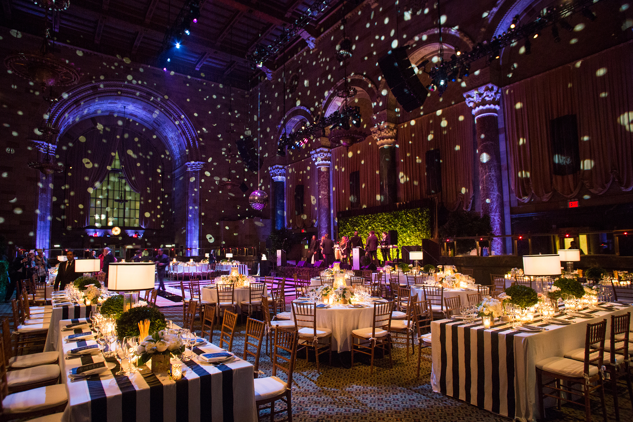Outdoor wedding reception lighting ideas Romantic 2015070814363590087237888starrynightreception2jpg Celebrations Ltd Gorgeous Ways To Bring The Outside Into Your Wedding Huffpost Life