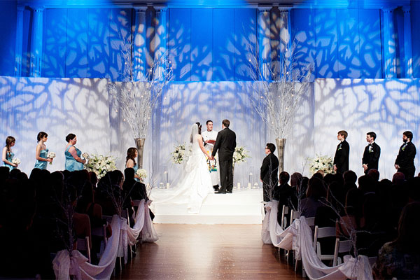 These Indoor Ceremony Backdrops Will Make You Pray For: 4 Gorgeous Ways To Bring The Outside Into Your Wedding